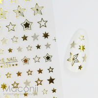 Nail Stickers 028 Gold Stars