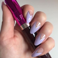 Nailhur - Stiletto Lavender Love