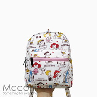 Snoopy Beagle Hug Small Backpack