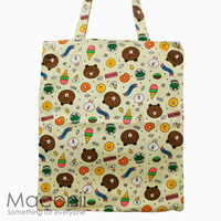 Line Friends Tote Bag