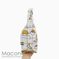 Gudetama White Lunch Bag