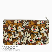 Chip and Dale Medium Pouch