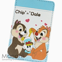 Chip and Dale Donald Plush Card Holder