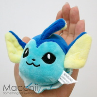 Pokemon Vaporeon Plush Keyring