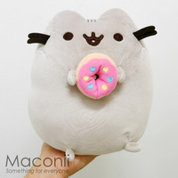 Pusheen With Donut Plush 24cm