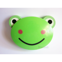Contact Lens Travel Case - Green Frog