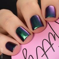 Super Chrome Powder - Emerald