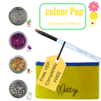 Shattered Colour Pop Pack - Yummy Yellow
