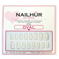 Nailhur - Oval Clear