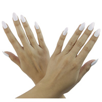 Nailhur - Stiletto Decal White