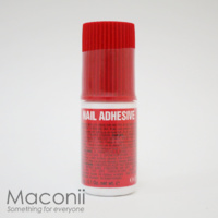 Red Nail Adhesive Glue