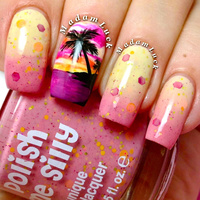 Polish Me Silly - Sizzling Sunset