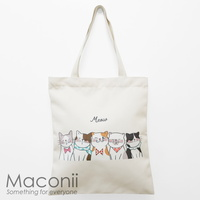 Cat Friends Tote Bag