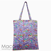 Little Twin Stars Tote Bag - Purple