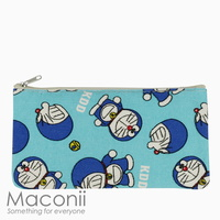 Doraemon Medium Pouch - Light Blue
