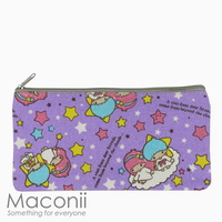 Little Twin Stars Purple Medium Pouch