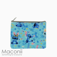 Stitch Blue Small Pouch