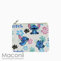 Stitch White Small Pouch