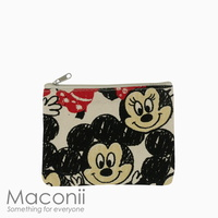 Micky Mouse Sketch Small Pouch