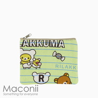 Rilakkuma Notes Small Pouch