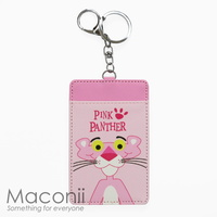 Pink Panther Card Holder Keyring