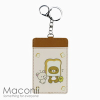 Rilakkuma Toastie Card Holder