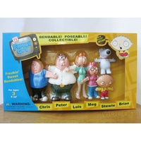 Family Guy Bendable Poseable Figures Set