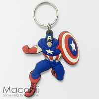 Captain America Classic Keyring