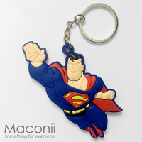 Flying Superman Keyring
