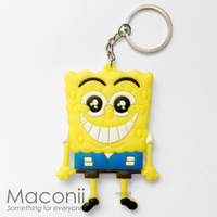 Spongebob Happy Keyring