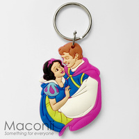 Snow White and Prince Charming Keyring