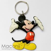 Mickey Mouse Arms Up Keyring