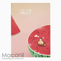 Independent Fruit Notebook Design - Watermelon
