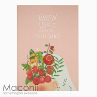 When Life Gives You Fruit Juice Notebook