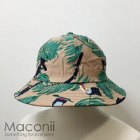Bucket Hats - Toucans Beige