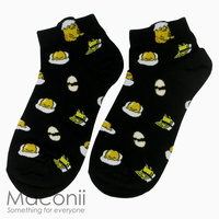 Socks - Gudetama Black